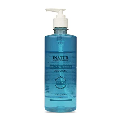 Buy Inatur Moisturizing Hand Sanitizer 500ml Online At Low Prices