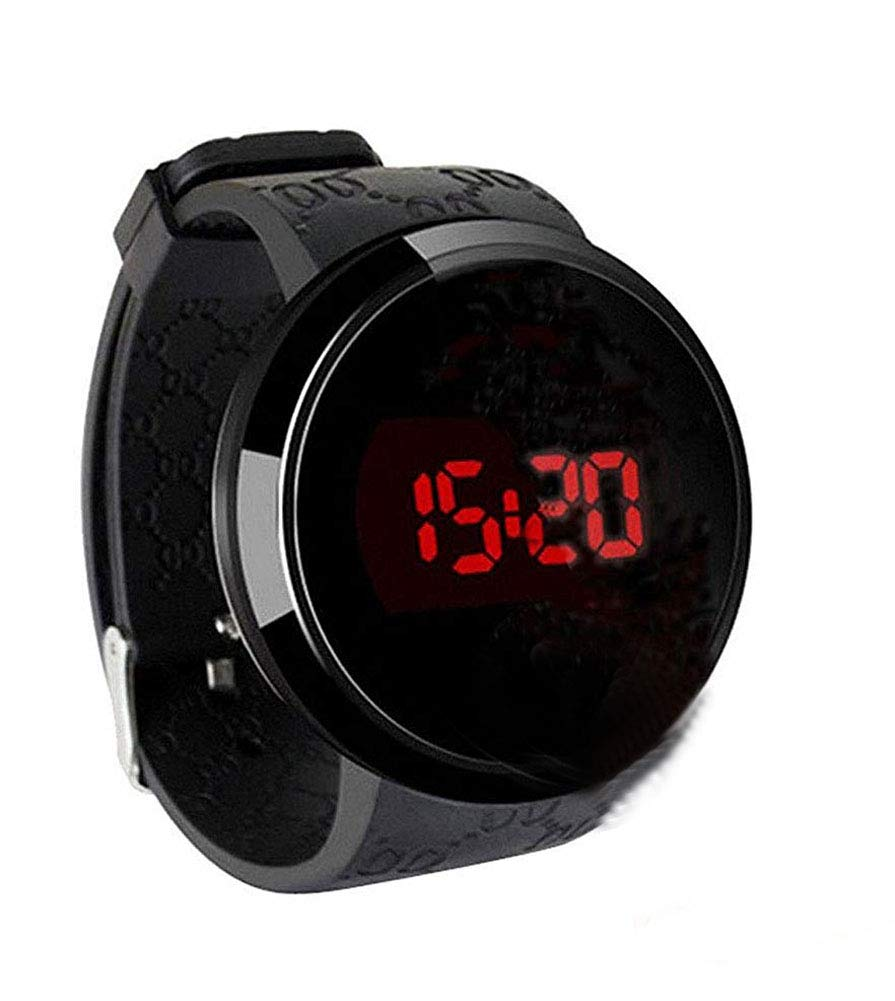 Techno Pave Digital Touch Screen Sports Smart Watch with Rubber Silicone Band by Techno Pave