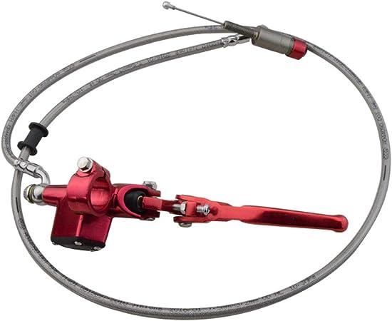 Goofit motorrad hydraulische kupplung zylinderstange links bremspumpe m8 x 1,25mm cnc universal f/ür yz125 yz250 yz250f yz450f wr250f wr450f pit bike roller gold
