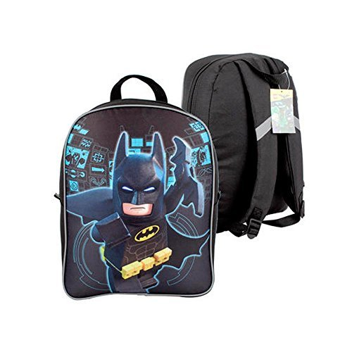 Super Popular Boys & Girls Backpack for School, Summer Camp, Travel and Outdoors! (Lego Batman Backpack) by Trail maker