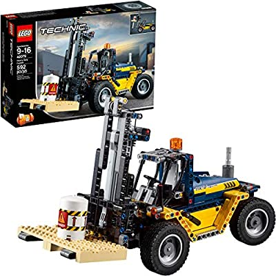 LEGO Technic Heavy Duty Forklift 42079 Building Kit (592 Pieces): Toys & Games