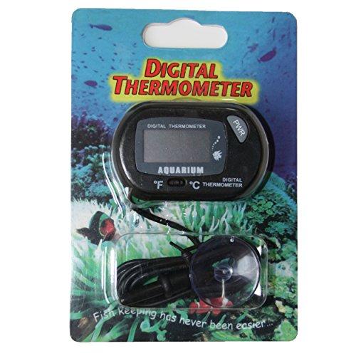 1 Digital Thermometer für Terrarium und Aquarium mit bereits eingebauter Batterie !! von SchwabMarken