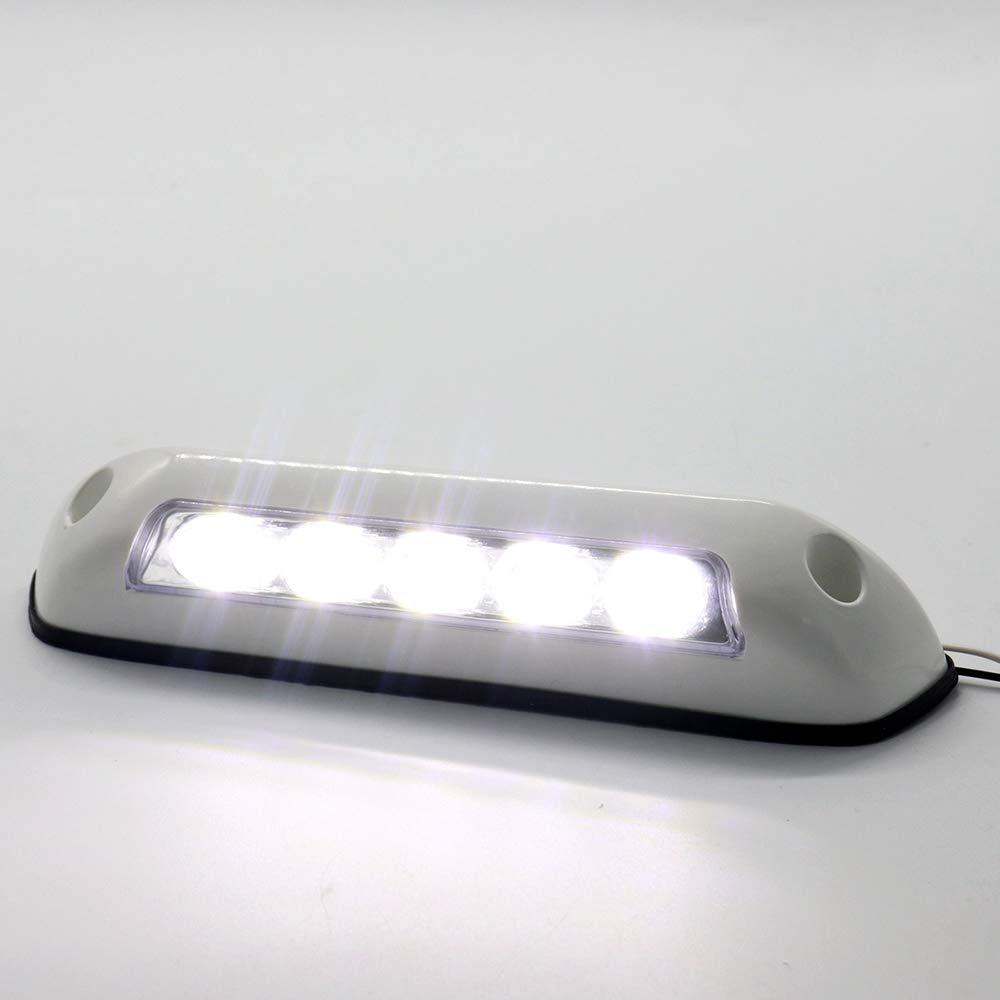 Carrfan 12V RV LED Auvent Porche Lumi/ère /Étanche Motorhome Caravane Int/érieur Mur Lampes Barre Lumineuse RV Van Camper