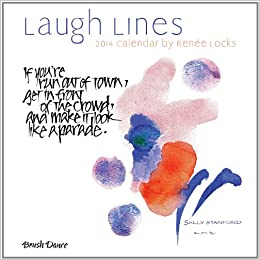 2014 Laugh Lines Mini Wall Calendar