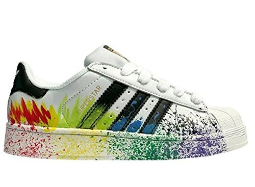competitive price d2fcd b1a11 Adidas Superstar White Splash Sneakers for Mens  Buy Online at Low Prices  in India - Amazon.in