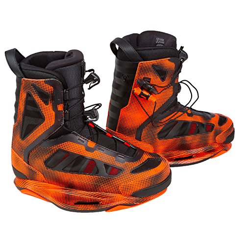 Ronix Parks Intuition (Electric Orange) Wakeboard Bindings