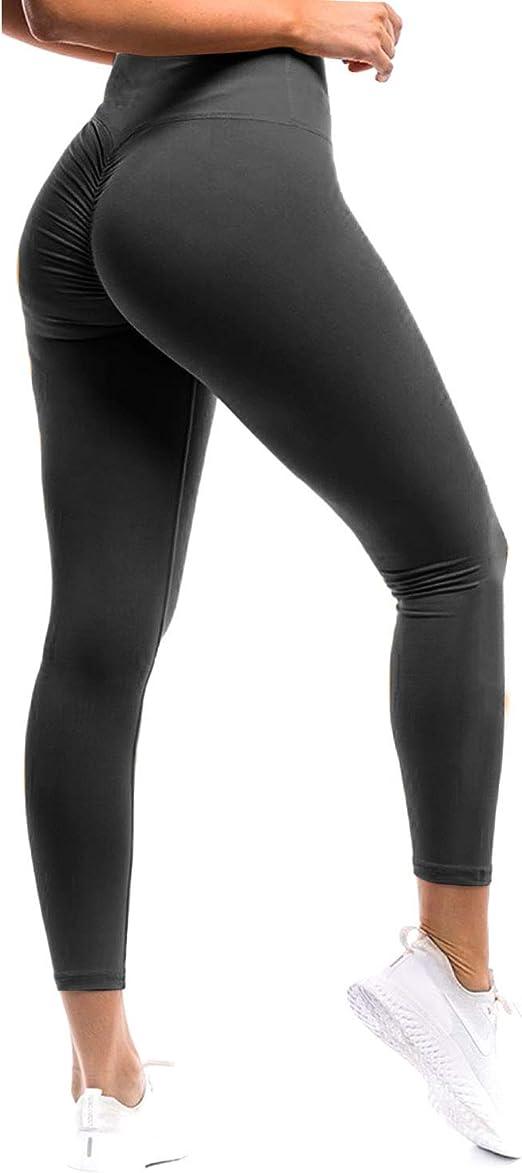 Amazon.com: Fittoo - Leggings de cintura alta sexy para yoga ...