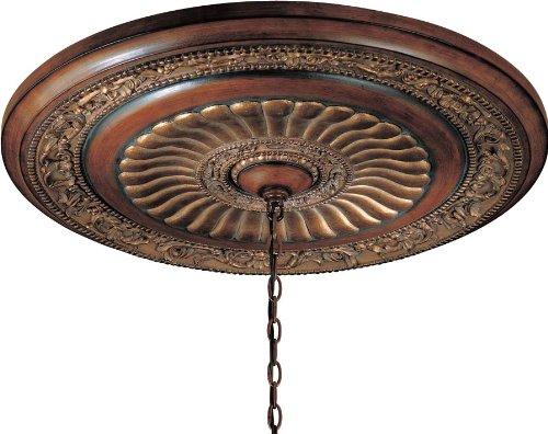 Minka Lavery 930-126 Belcaro Ceiling Medallion, Belcaro Walnut by Minka Lavery