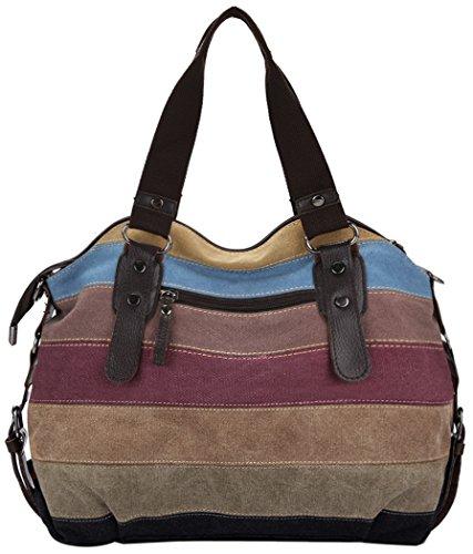 a femme bandouliere fourre en Fille main sac femme Sac Multicolore sac femme Cabas Coofit toile sac Femmes a mian sac tout xa7nBqTv0