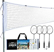 Franklin Sports Badminton - Starter, Family, & Professional