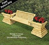Landscape Timber Planter Bench Plan
