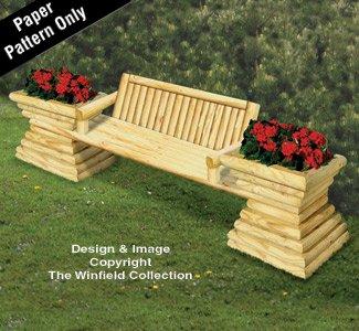 nter Bench Plan (Landscape Timber)