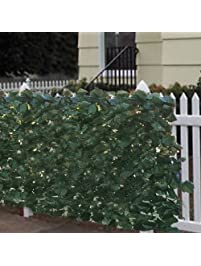 Best Choice Products Faux Ivy Privacy Fence.