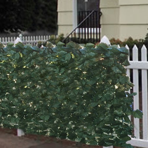 Best Choice Products 94x39in Artificial Faux Ivy Hedge Privacy Fence Wall Screen, Leaf and Vine Decoration for Outdoor Decor, Garden, Yard - Green from Best Choice Products