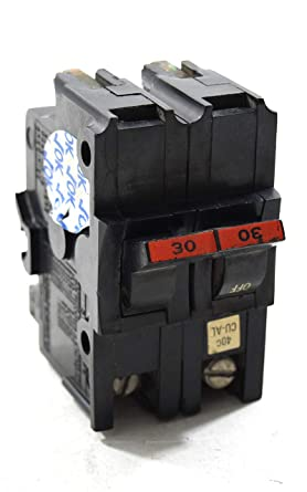 FPE NA 2 pole 30 amp 120//240v NA230 Circuit Breaker Red or Black Handle