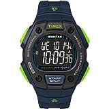 Timex Men's TW5M18800 Ironman Classic 30 Blue/Lime/Negative Resin Strap Watch