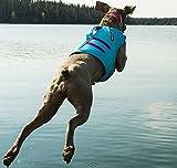 RUFFWEAR BLUE ATOLL DOG FLOAT COAT ♦ NEW 2017 PREMIUM LIFE JACKET BUOYANT SECURE REFLECTIVE ♦ ALL SIZES (Large)