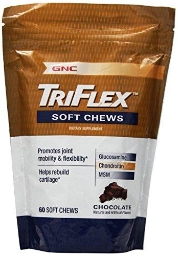 GNC Tri-Flex souple à mâcher, chocolat, 60 ch