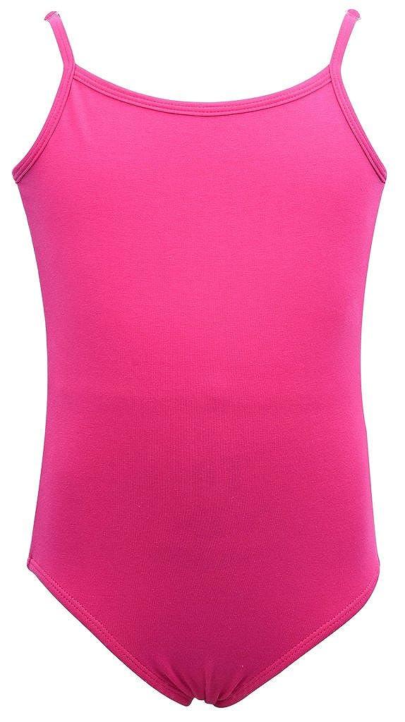 Dancina Leotard Camisole Adjustable Strap Ballet Gymnastic Front Lined Ages 2-10
