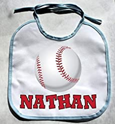 Personalized Custom Name BaseBall Baby B...
