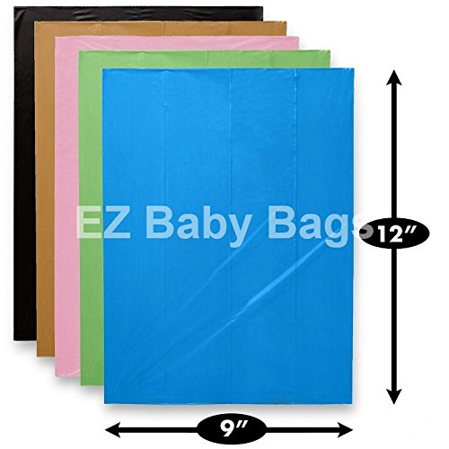 1000 EZ Baby Diaper Disposal Bags Refills Unscented Bulk