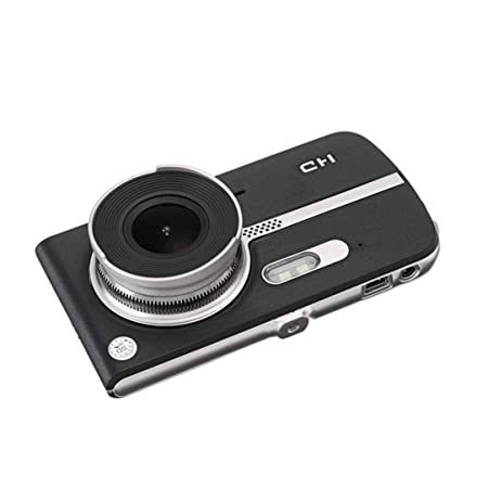 Review Car DVR,Pausseo 4'' LCD