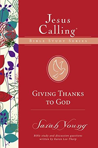 Giving Thanks Jesus Calling Studies ebook product image