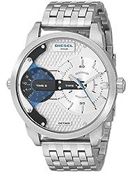 Diesel Mens DZ7305 Mini Daddy Silver-Tone Watch