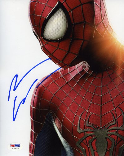 Andrew Garfield Amazing Spiderman 2 Signed Autographed 8x10 Photo PSA/DNA Certified Authentic COA