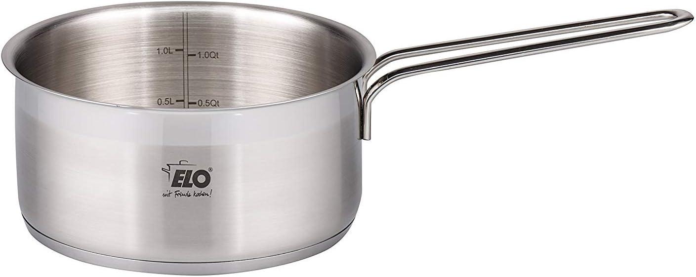 ELO Platin Stainless Steel Induction Milk Pot, 1 Quart