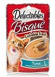 HARTZ Delectables Bisque Lickable Wet Cat Treats - Tuna - 12 Pack
