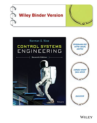 (Control Systems Engineering, Binder Ready Version)