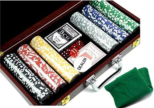 Set da Gioco Set da Poker nella Valigia Black Jack 2784 BSD