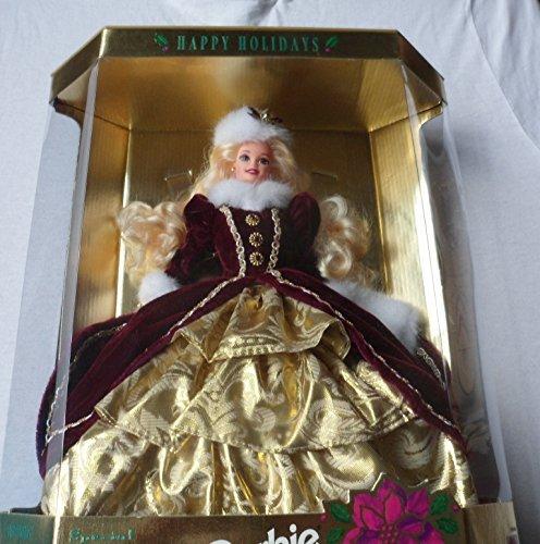 Mattel Happy Holidays Barbie Christmas 1996 -