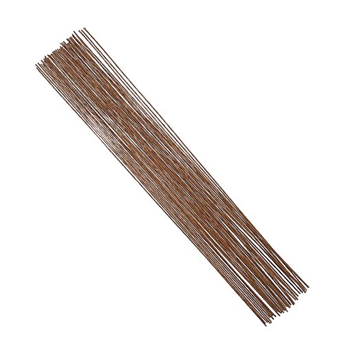 DECORA 18 Gauge Brown Floral Wire for Artificial Flower Making 16 ()