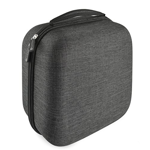 Geekria UltraShell Headphones Carrying Case, Compatible with AKG K701, K702, Q701, K712, K601, Sennheiser HD800, HD700, HD650, HD600, Beyerdynamic T1, DT880, ATH W3000ANV, W5000 Headphone and More (Best Headphone Amp For Audeze Lcd 2)