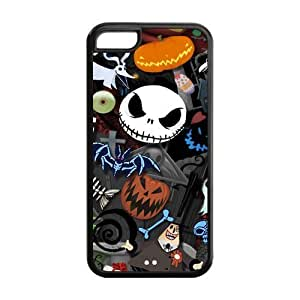 LJF phone case DIY Fashion The Nightmare Before Christmas High Quality Durable Hard Rubber Gel Silicon Cover Case for ipod touch 4