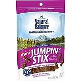 Natural Balance L.I.T. Limited Ingredient Treats Mini Jumpin' Stix Dog Treats, Venison & Sweet Potato Formula, 3.5-Ounce Larger Image