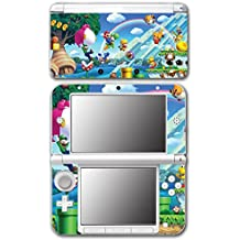 New Super Mario Bros 2 3D Land World Luigi Goomba Video Game Vinyl Decal Skin Sticker Cover for Original Nintendo 3DS XL System Console