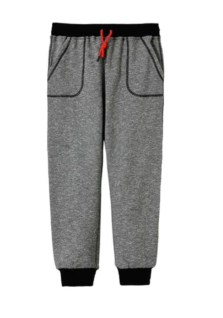 Cromoncent Boys Sweatpants Cute Jogger Soft Slim Casual Pants