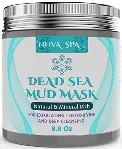 Best Cleanser Oily Face - Dead Sea Mud Mask For Face, Acne, Oily Skin & Blackheads - Best Facial Pore Minimizer, Reducer & Pores Cleanser Treatment - Natural For Younger Looking Skin