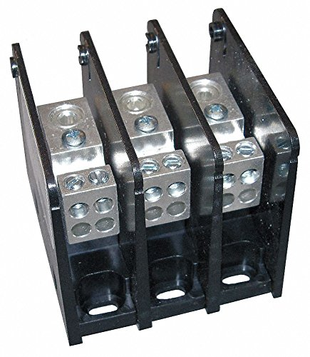 Mersen MPDB63133  Alum Pwr-Dist Block (Power Dist Block)