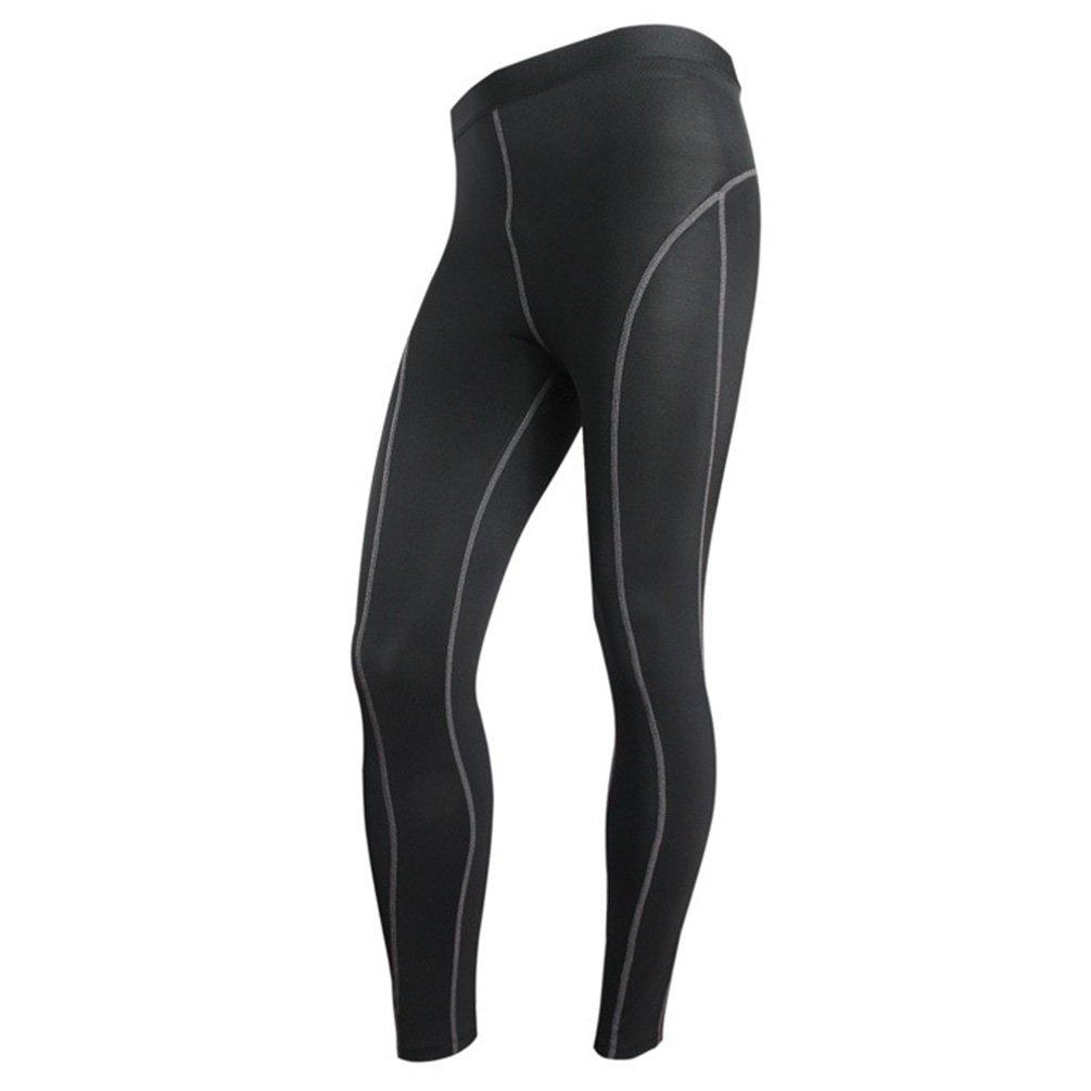 YiJee Pantalones de Compresión de Running para Hombre