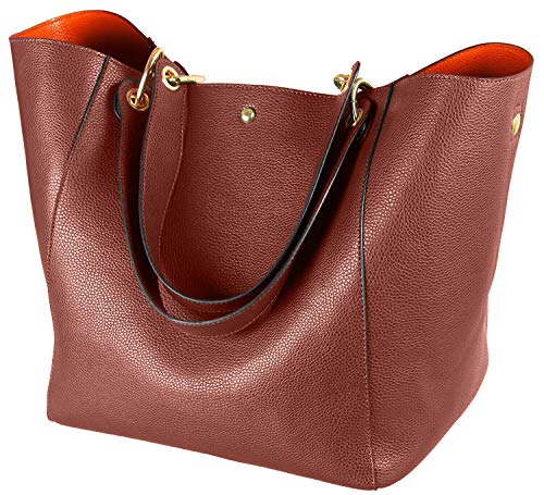 Large Capacity Work Tote Bags for Women's Waterproof Leather Purse and handbags ladies Waterproof Big Shoulder commuter Bag