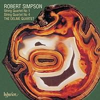 Robert Simpson: String Quartet No. 1 / String Quartet No. 4