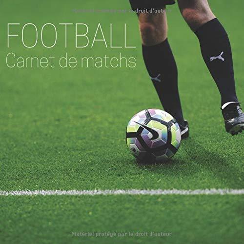 Football Carnet De Matchs Livre A Remplir 120 Matchs