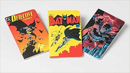 dc comics batman through the ages pocket notebook collection set of 3 batman pocket notebook collection