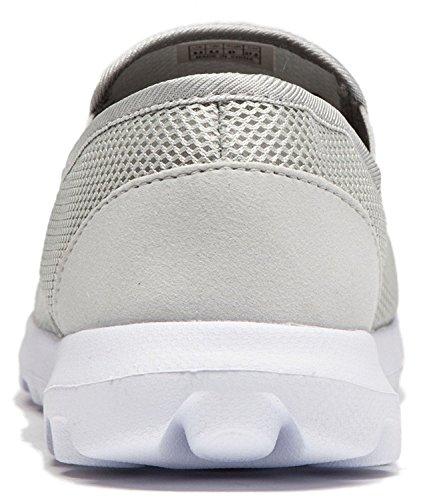 Vibdiv--Men's Lightweight Breathable Anti-Slip Casual Shoes(EU 41 US 8 Men,Grey) by vibdiv (Image #3)