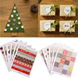 1 Set Floral Print Labels Stickers Diy Scrapbooking Paper Gift Decoration^.