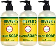 Mrs. Meyer's Clean Day Liquid Hand Soap, Cruelty Free and Biodegradable Formula, Honeysuckle Scent, 12.5 o
